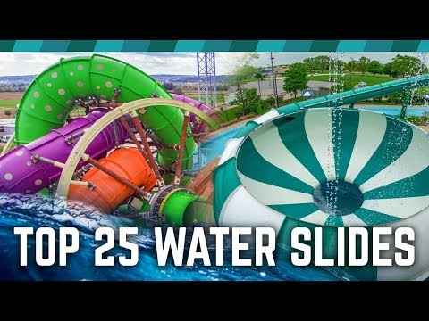TOP 25 Water Slides in the World!