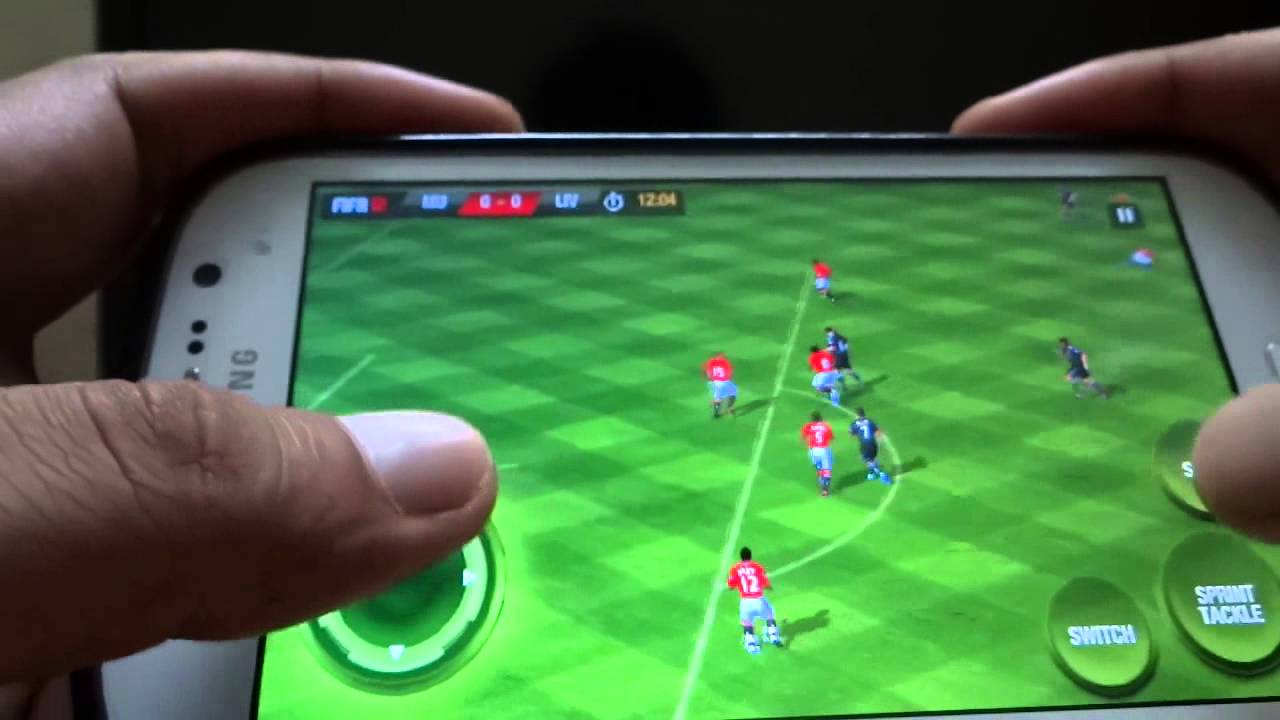 Fifa 12 apk gaming review on samsung galaxy grand hd youtube.