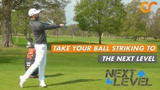 TAKE YOUR BALL STRIKING TO THE NEXT LEVEL WITH THIS DRILL