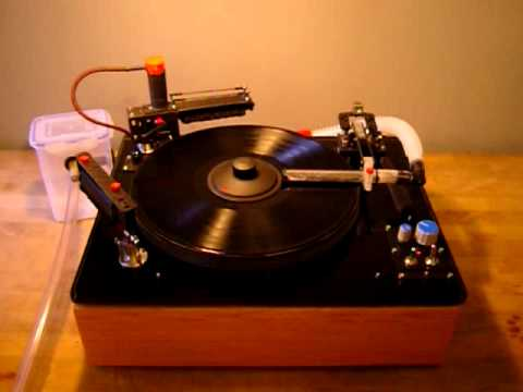 DIY Record Cleaning Machine with Rotary Brush YouTube
