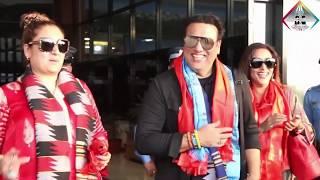 बलिउड सुपरस्टार गोविन्दा नेपाली श्रीमतिको साथमा नेपाल आए किन?