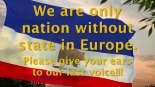 Carpathian Ruthenia flag for independent/Росіяния/Karpatske Rusinsko