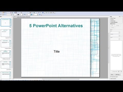 5 Free Alternatives To Powerpoint - Ezvid, Open Office, Google Docs, Prezi & Zoho