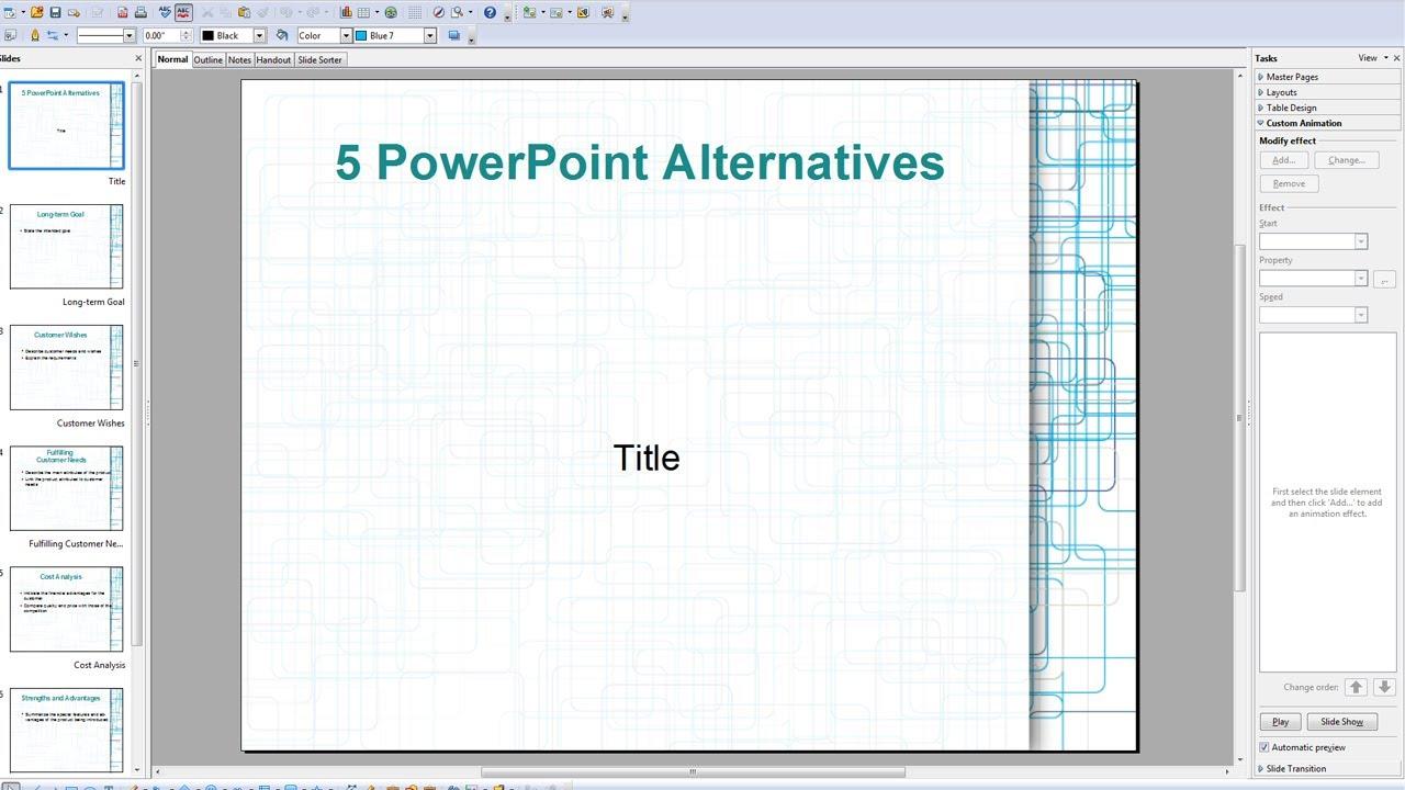 5 free alternatives to powerpoint ezvid open office google docs