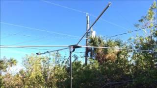 MFJ-1835 Cobweb antenna review and testing