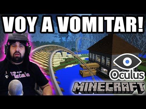 VOY A VOMITAR!! - MINECRAFT EN REALIDAD VIRTUAL - Jugando Con Natalia