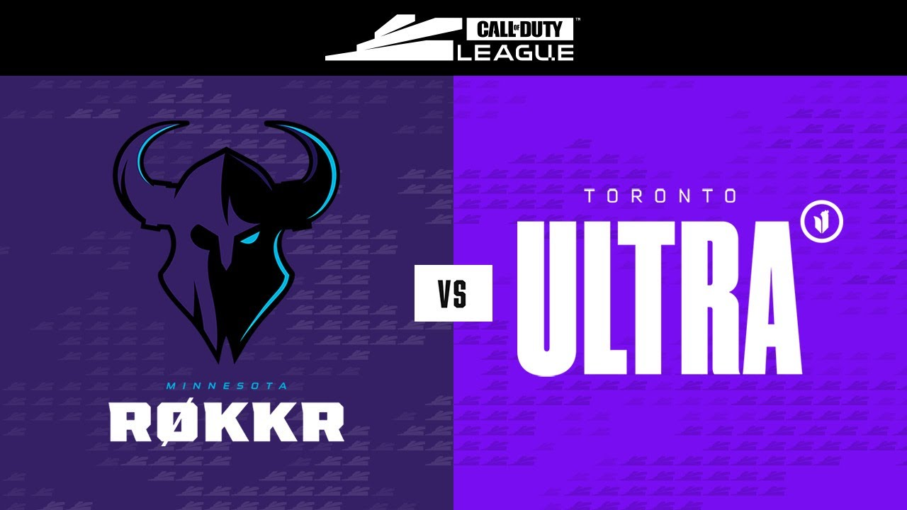 Winners Finals    @Minnesota RØKKR vs @Toronto Ultra    Stage V Major Tournament   Day 3
