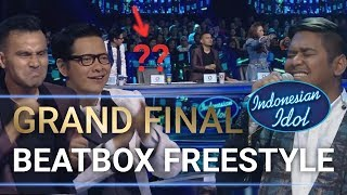 Heboh! Abdul Freestyle Dapat Standing Ovation Dari Juri - Grand Final Indonesian Idol 2018