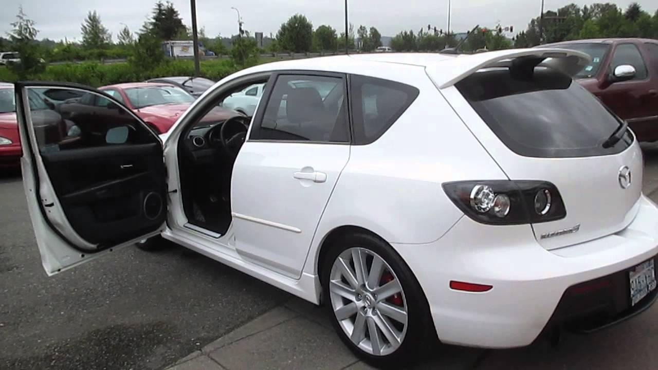 2008 Mazda 3 White Stock 13 3278c Walk Around Youtube