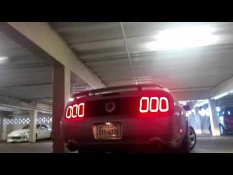 07 mustang gt flow master outlaws raxiom gen5 tail