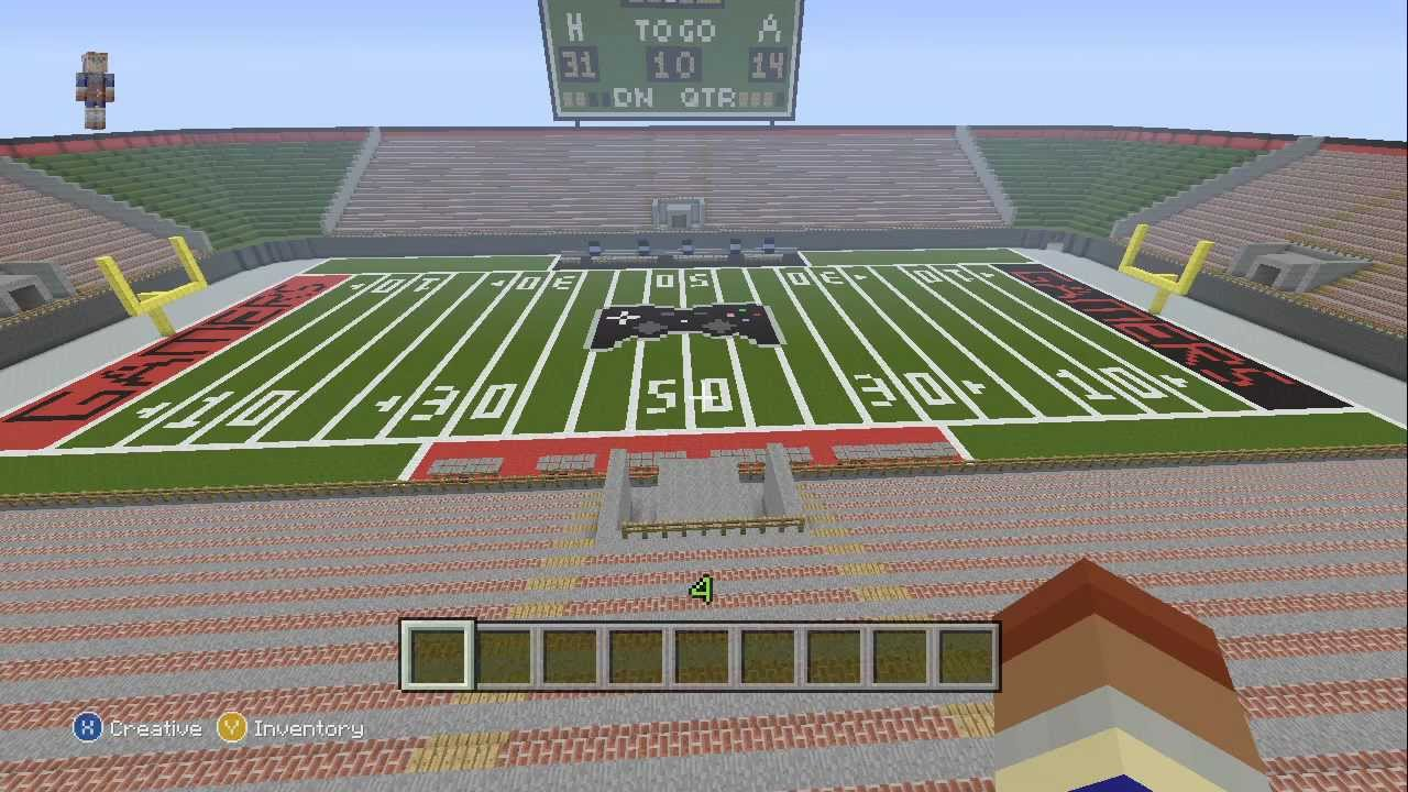 Build A Stadium In Minecraft