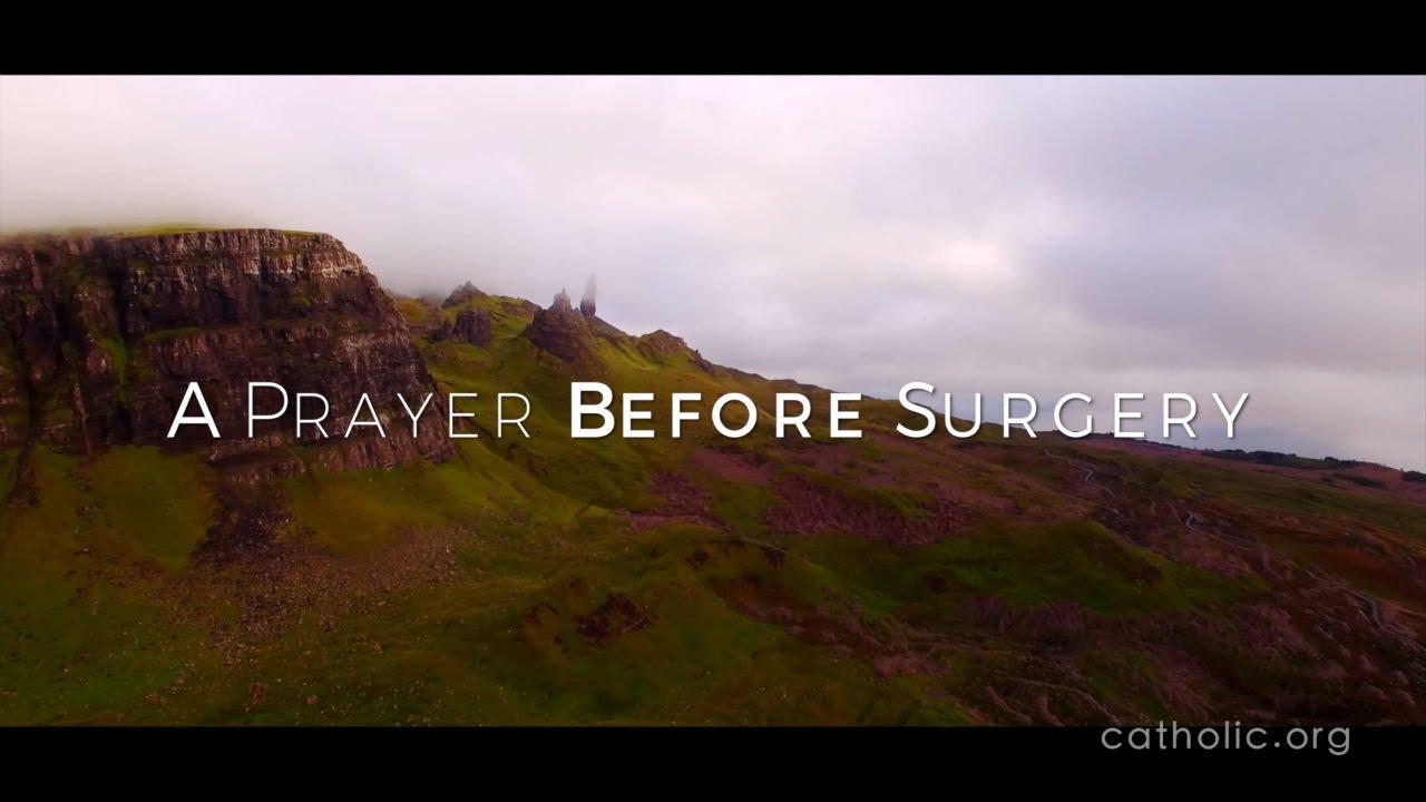 Prayer for surgery catholic