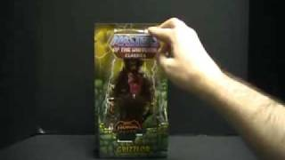 MASTERS OF THE UNIVERSE CLASSICS!! GRIZZLOR!!