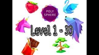 polysphere | level 1 to 30 | game play | fun