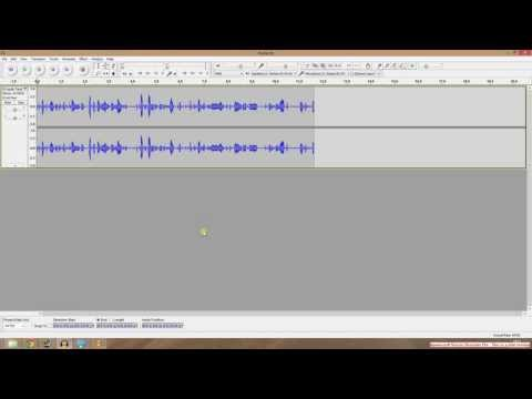 How to fix Audacity microphone and audio problems for commentaries on YouTube videos.