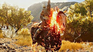 Assassins Creed Odyssey - How To Get Abraxas LEGENDARY Phobos Skin (Fire Demon Horse) YouTube Videos