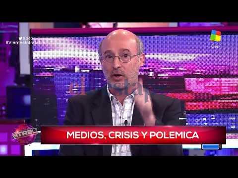 Periodista pone contra las cuerdas a Lombardi por la pauta publicitaria