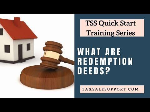 Tax Redemption Deeds (Texas & Georgia)