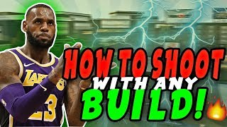 NBA 2K19 BEST JUMPSHOT FOR BUILDS THAT CAN'T SHOOT! SHOOT LIKE A PURE SHARP / PURE STRETCH FOUR !