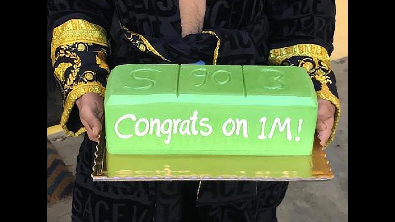 Lil Pump Birthday Cake