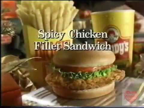 Wendy's Spicy Chicken Sandwich | Television Commercial | 1997 ...
