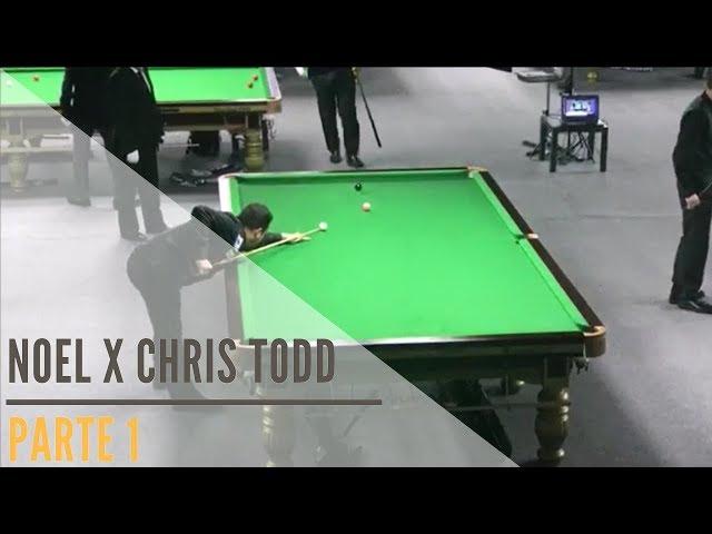 Noel x Chris Todd - Parte 1: Campeonato Mundial de Snooker IBSF Masters - Doha / Qatar 2017