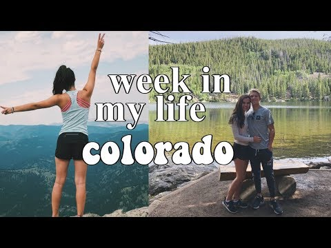 week in my life: boulder, colorado