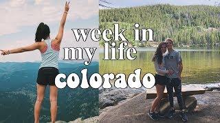 week in my life: boulder, colorado