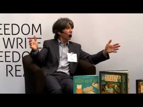 Anthony Browne in conversation with Nicolette Jones