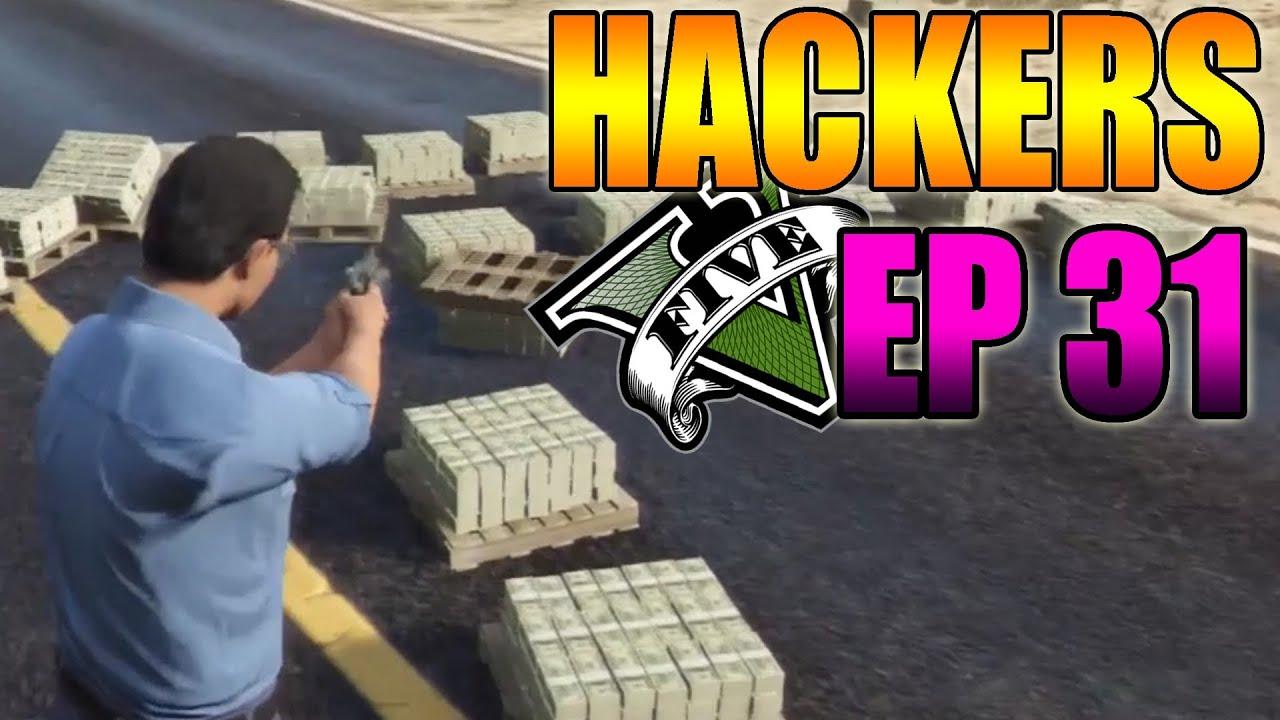 Hackers En GTA V Online #31 - OVNI, Mod Menú, Teletrasporte y Más - MOD Hack GTA 5