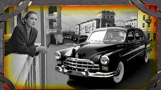 Автомобиль эпохи Сталина.  ГАЗ 12 ЗиМ.