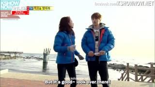 Lee Dong Wook and Song Ji Hyo running man ep.179