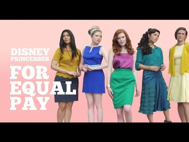 Disney Princesses for Equal Pay
