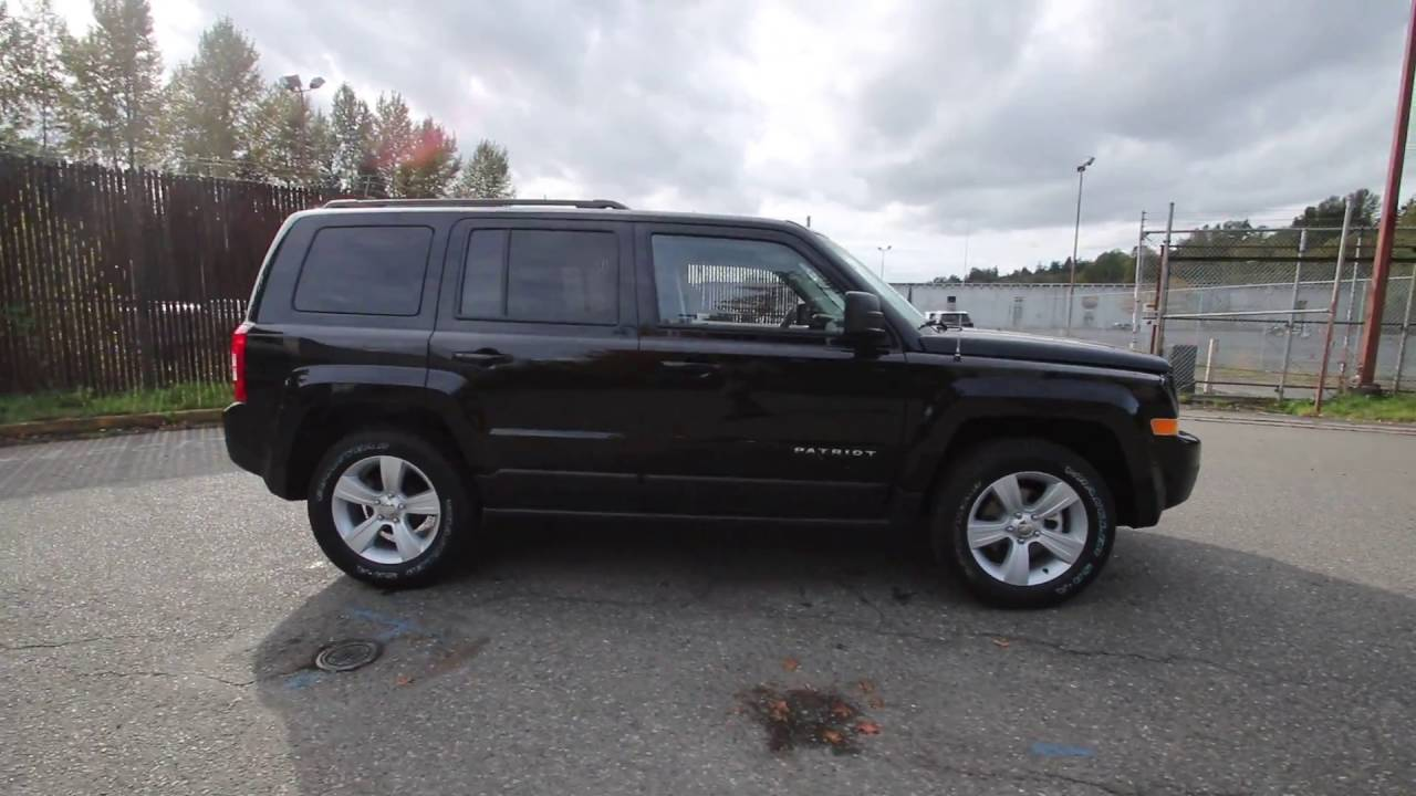 Chrysler Dodge Jeep Ram Of Seattle >> 2017 Jeep Patriot Sport   Black Clearcoat   HD130847 ...