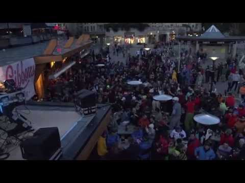 Paul Oakenfold Live on roof of The Longhorn Patio in Whistler