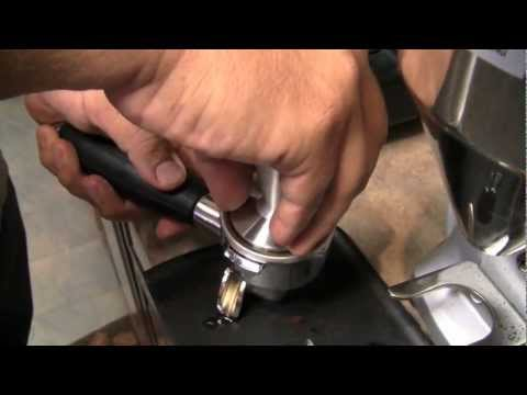 How to Properly Pull Espresso Shots and Tamp
