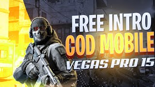 FREE CALL OF DUTY MOBILE S7 GAMING INTRO | VEGAS PRO 15 | SV FX