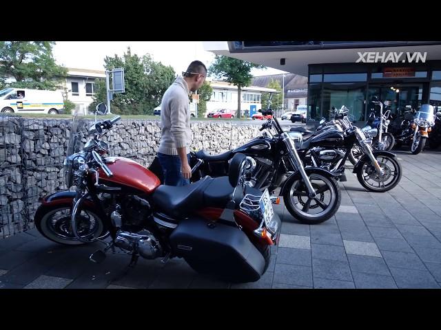 Lạc vào biển Harley-Davidson giá chỉ hơn 200 triệu/chiếc tại Stuttgart |XEHAY.VN|