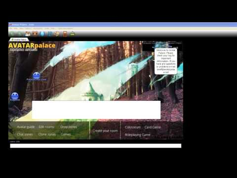 How To Download Avatar Palace For Free! - Virtual World Chat 2D