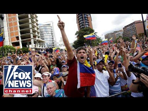 World picking sides in Venezuela's leadership crisis