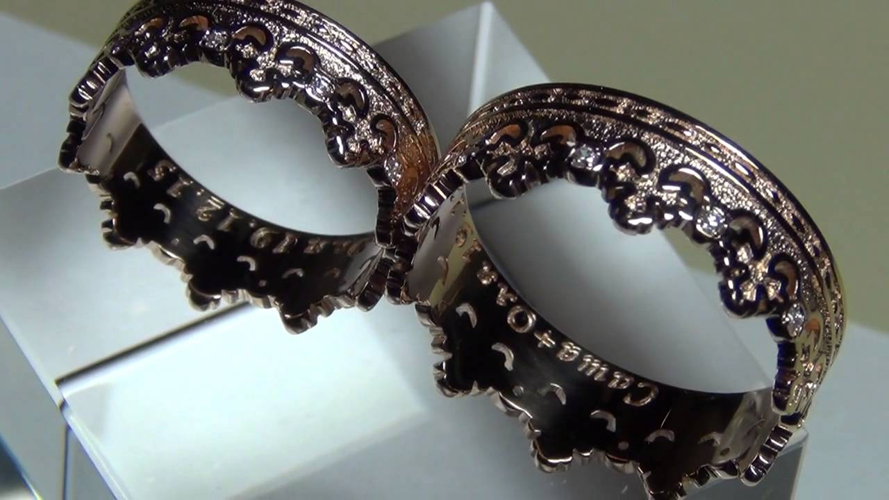 Обручальные кольца - YouTube