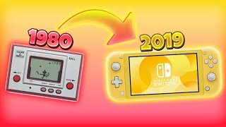 EVOLUTION of Nintendo Handheld Consoles (1980-2019)