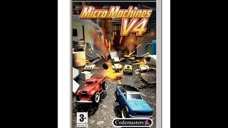 Micro Machines V4 - Sony PSP