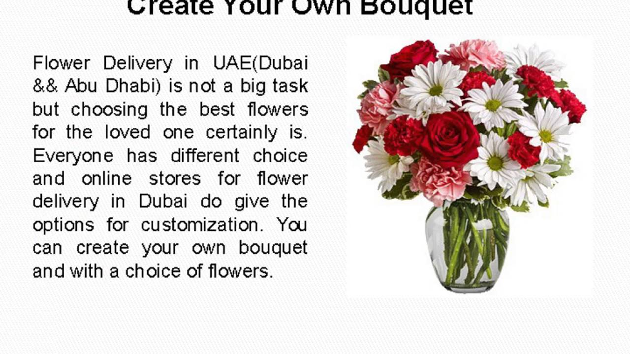 flower delivery dubai - YouTube