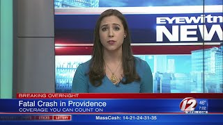 Fatal crash overnight in Providence