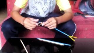 Cara membuat mainan sederhana (anak panah)