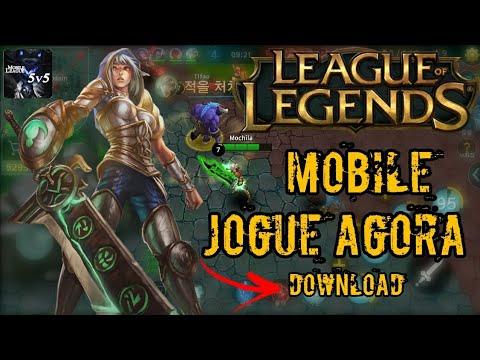 Saiu Lol Mobile Copia De League Of Legends Para Android Mobile League Baixe Agora Apk Download Youtube