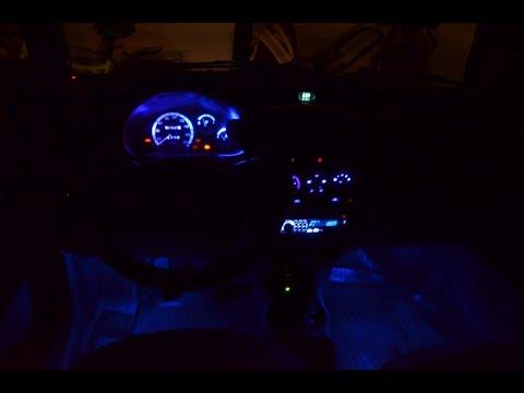 Дэо матиз замена подсветки на светодиодную в щитке приборов