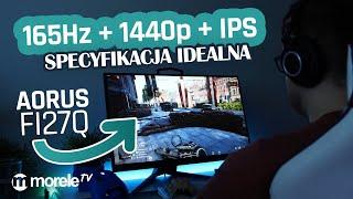 165Hz + 1440p + IPS = SPECYFIKACJA IDEALNA | Aorus FI27Q