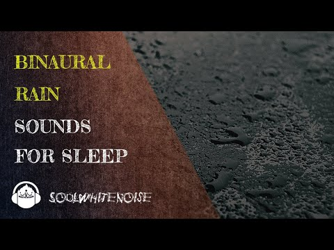 Binaural Rain Sounds To Help You Obtain A Deep And Restful Sleep